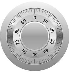combination lock 01 vector image vector image