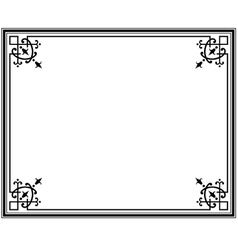 frame magasin 1 vector image vector image