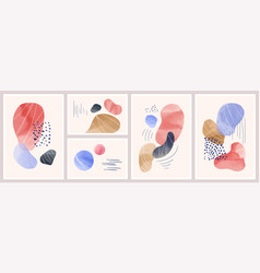 abstract background with watercolor spots vector image