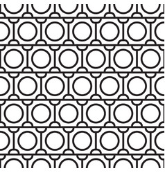 Abstract black seamless pattern vector