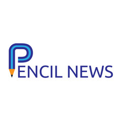 Abstract pencil symbol vector