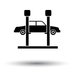 Car lift icon vector