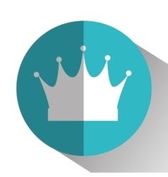 Crown royal king vector image