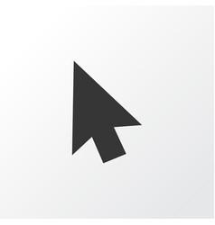 cursor icon symbol premium quality isolated arrow vector image