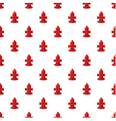Fire hydrant pattern vector