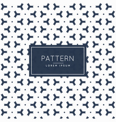 pattern background with abstract three sided shape vector image