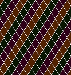 Seamless Pattern Rhombuses EPS10 vector image