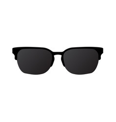 sun glasses icon eps10 vector image