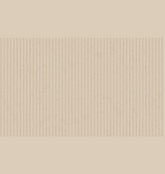 texture sheet corrugated cardboard blank paper vector image