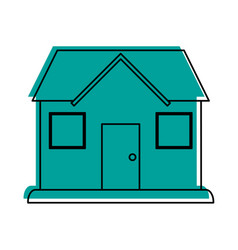 classic house or home icon image vector image