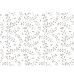 seamless pattern of windflower pickpurse vector image