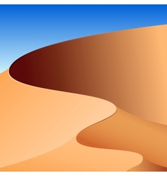 Sand dunes abstract background vector