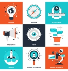 Startup and New Business vector image