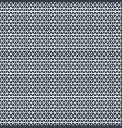 abstract triangle pattern repeat blue color on vector image vector image