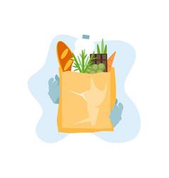 Food delivery online order vector