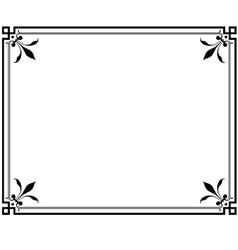 frame magasin 2 vector image