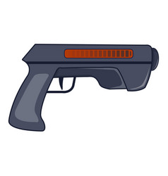 Gun icon cartoon style vector