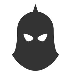 Knight Helmet Icon vector image