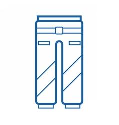 Sport pants icon vector