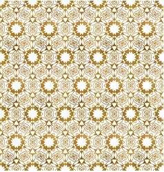 Traditional arabesque seamless pattern repeatable vector