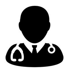 Doctor Physician Nurse Medical Healthcare Icon vector image vector image