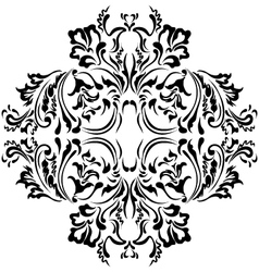 Pattern floral vector