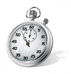 vector stopwatch vector image