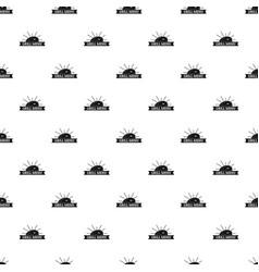 bbq grill menu pattern seamless vector image