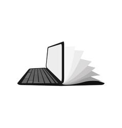 book icon reading design graphic vector image