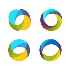 Colorful circle vector