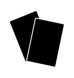 Documents papers blank icon image vector