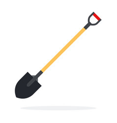 fire shovel flat vector image