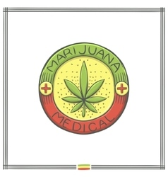 Medical Marijuana Logo Four vector