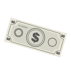 Money bill icon image vector