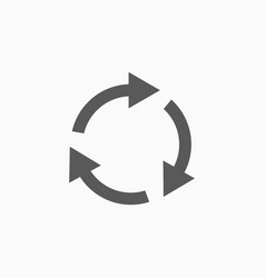 roundabout icon vector image