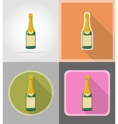 celebration flat icons 03 vector image vector image