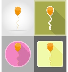 celebration flat icons 04 vector image vector image