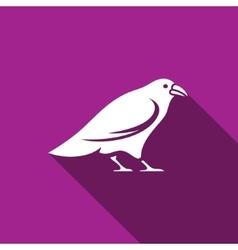 Raven icon vector image vector image