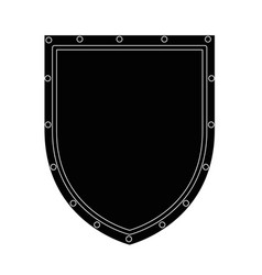 shield badge icon vector image