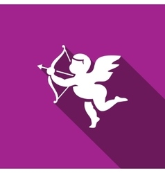 Cupid icon vector image