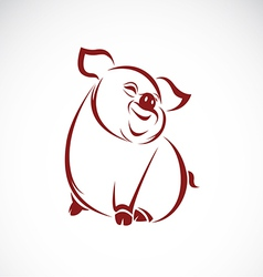image of an pig vector image vector image