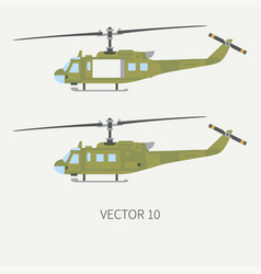 plain flat color icon set military vector image vector image