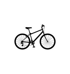 Bicycle symbol vector
