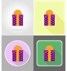 Celebration flat icons 06 vector