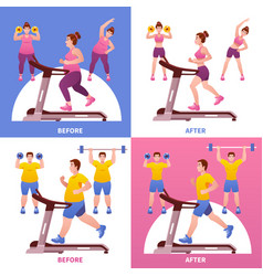 fitness design concept vector image
