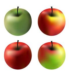 Gradient apples vector