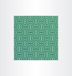 green square sameless pattern background vector image