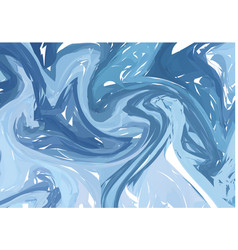 Marble imitation blue background vector