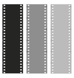 set of films pattern background vector image