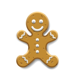 Ginger bread vector image vector image